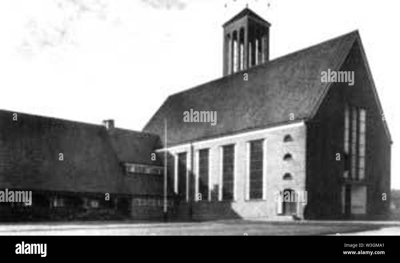 Christuskirche 1940. - Stock Image