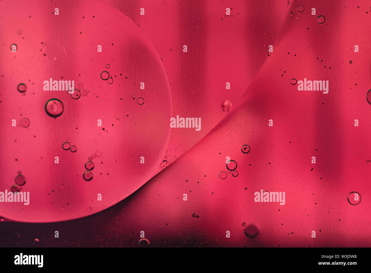 Beautiful color Pink abstraction background close up. - Stock Image