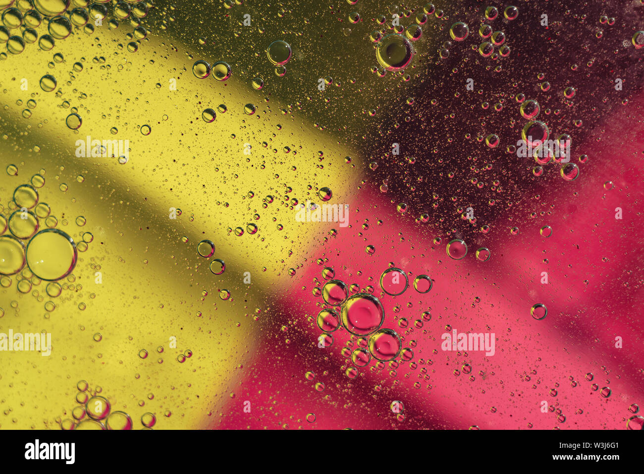 Beautiful color abstraction background close up. - Stock Image