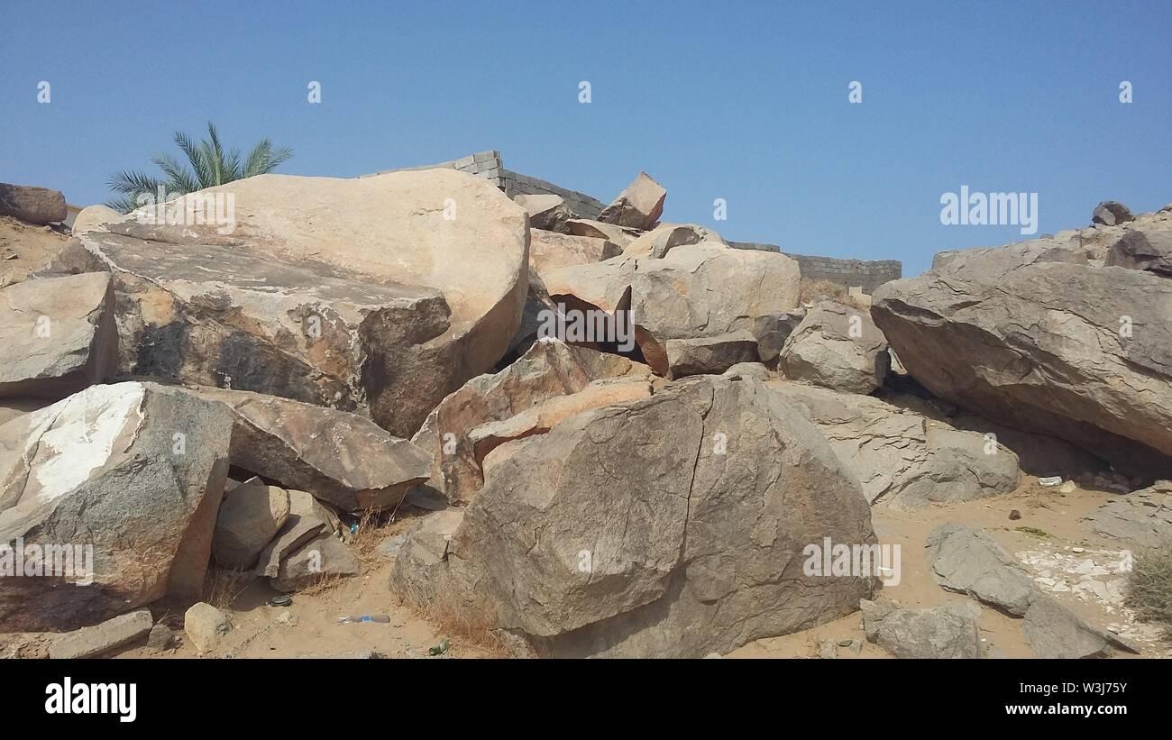 Saur Cave in Makkah Stock Photo: 260400279 - Alamy