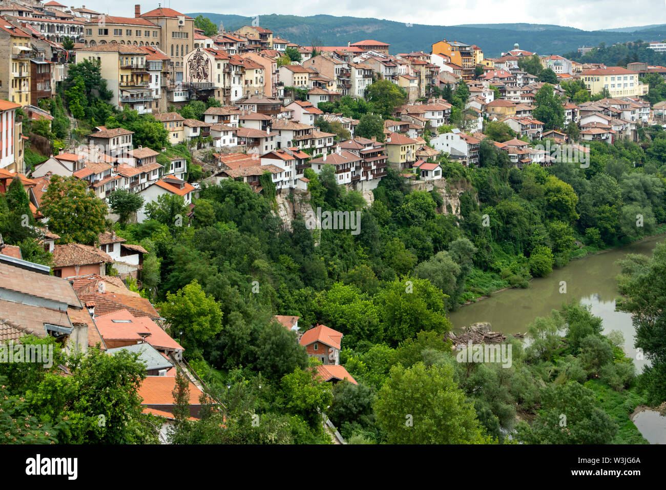 Veliko Tarnovo, Bulgaria Stock Photo