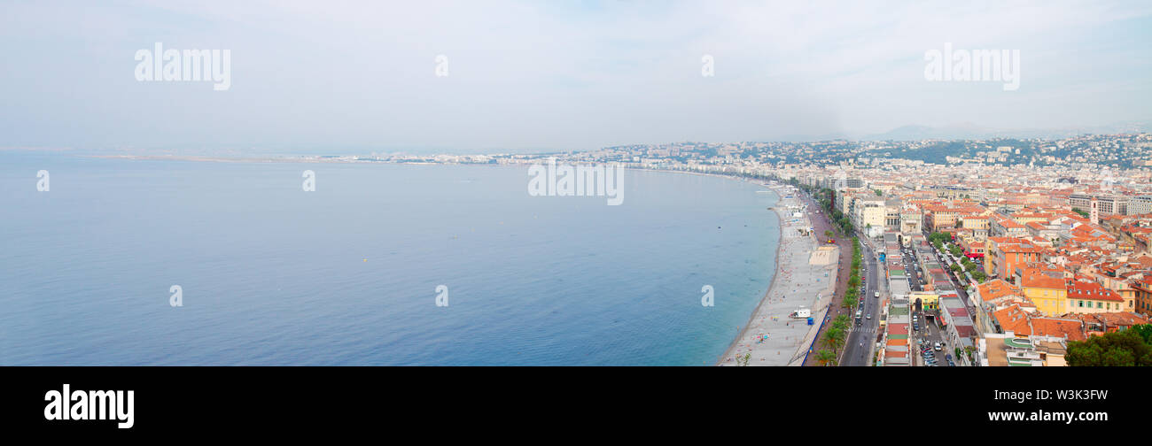 cityscape of Nice, France - Stock Image