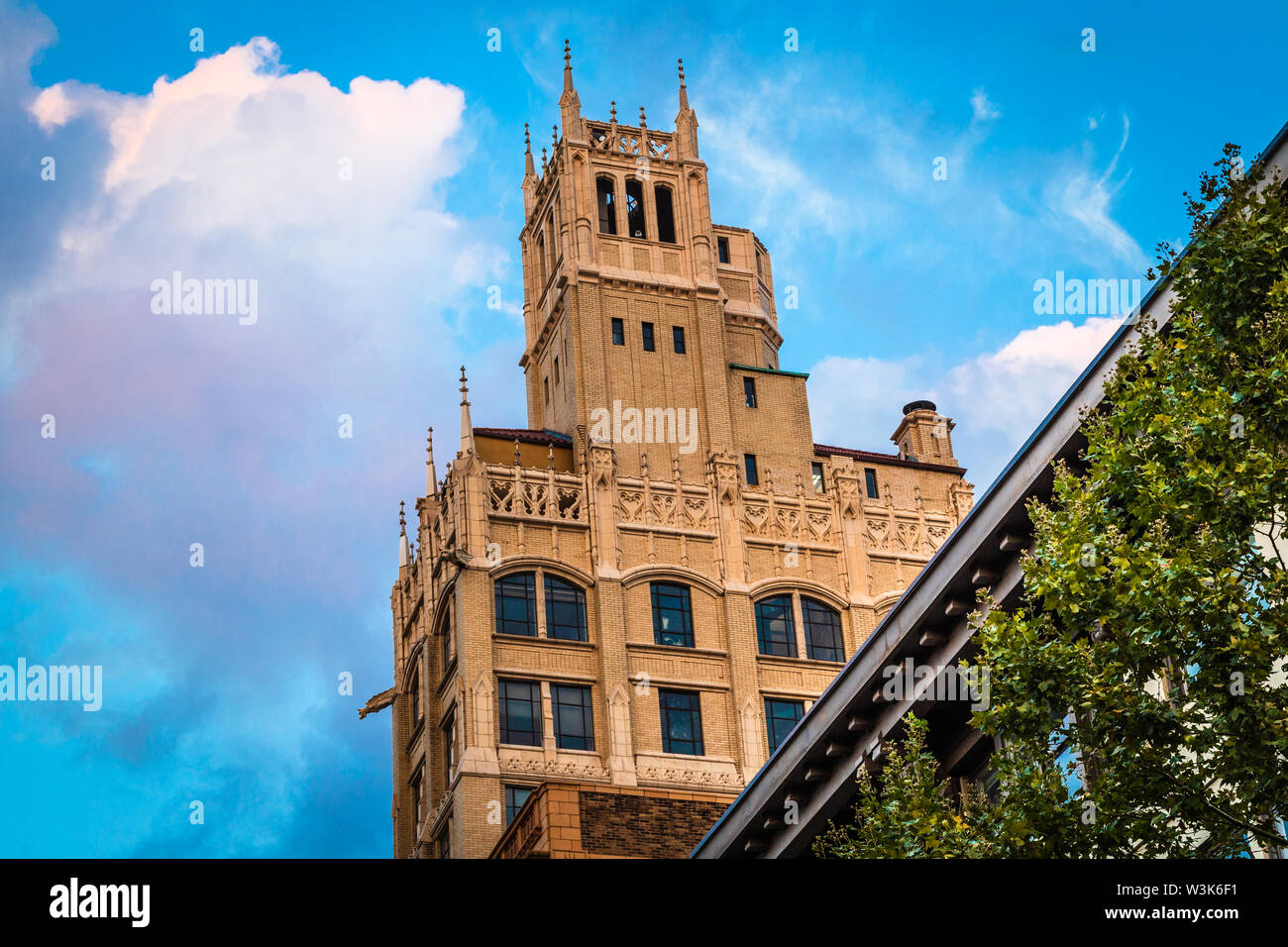 The Jackson Building in Asheville. North Carolina, USA. - Stock Image