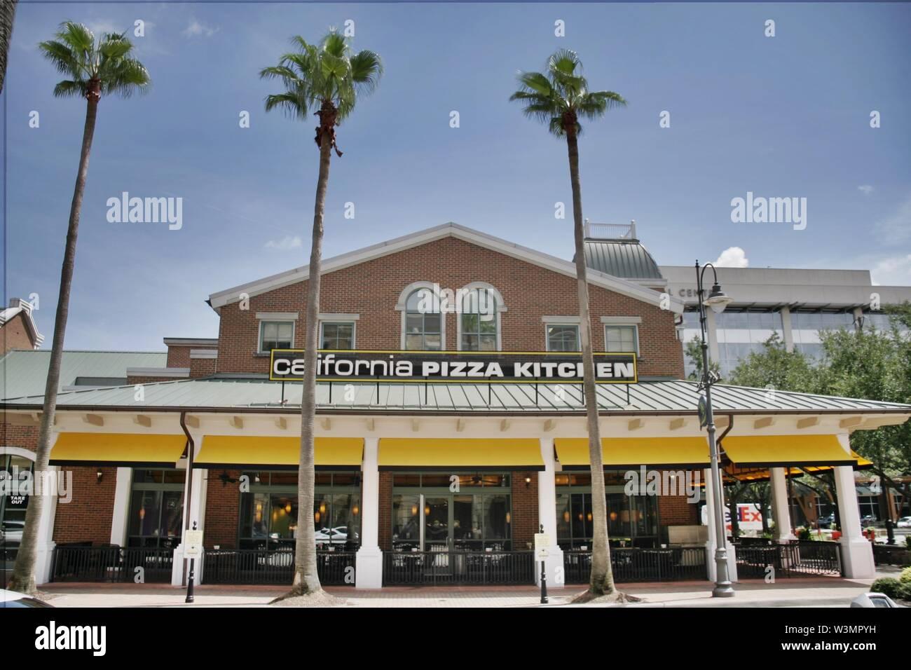 Outstanding California Pizza Kitchen Restaurant Stock Photos Download Free Architecture Designs Rallybritishbridgeorg