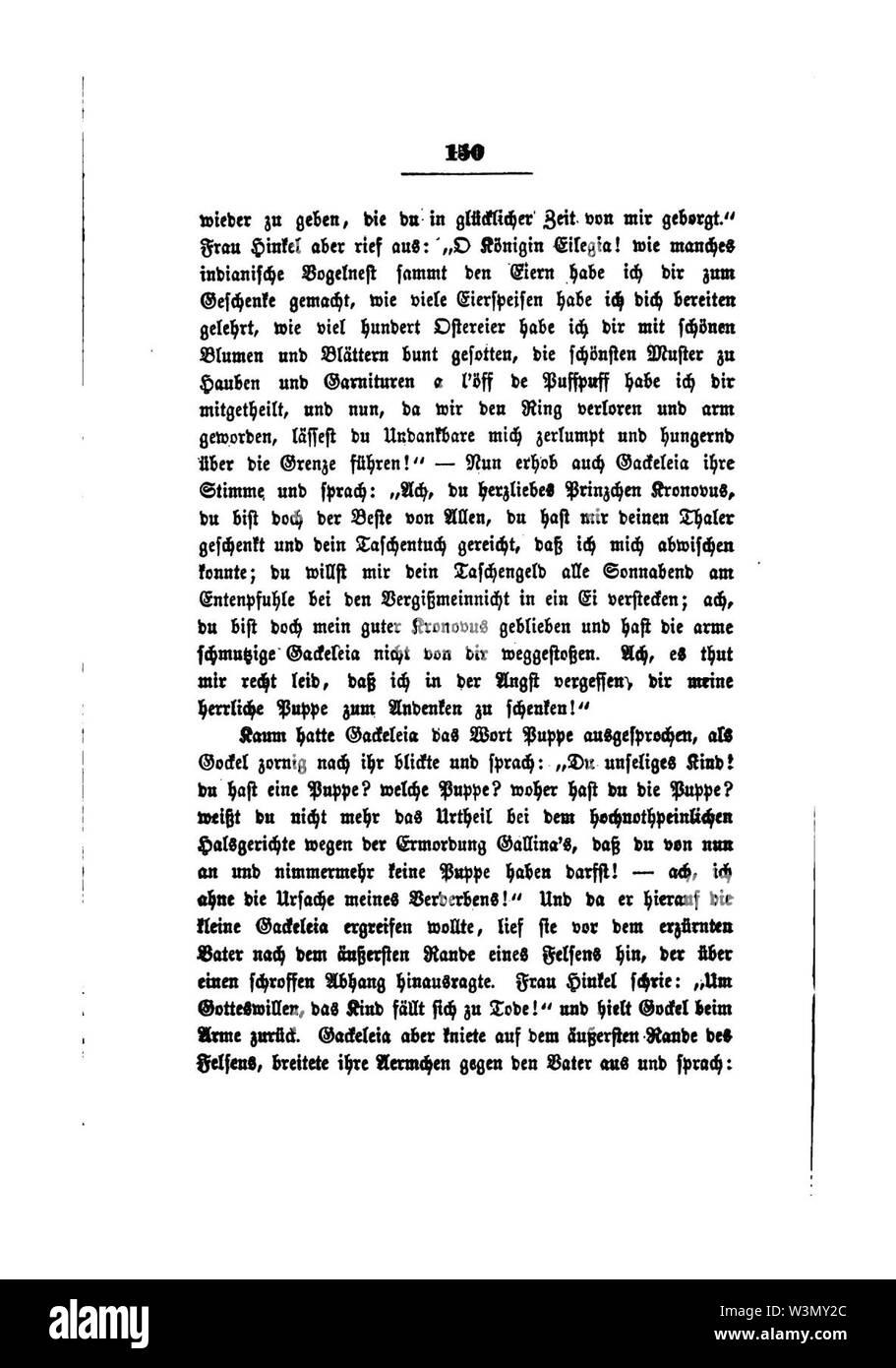 Clemens Brentano's gesammelte Schriften V 150. - Stock Image