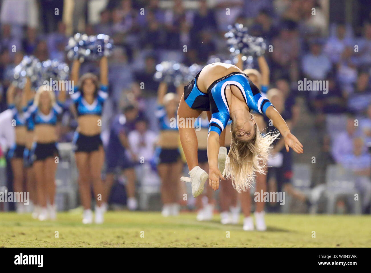 Cheerleaders. - Stock Image