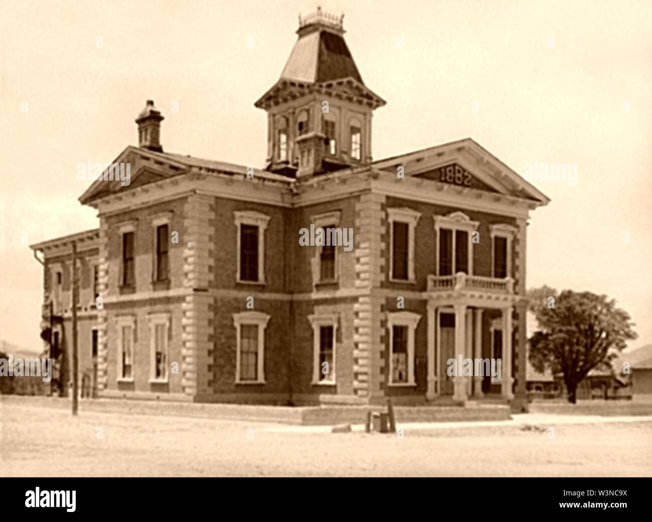 Cochise County Courthouse 1940 FSA. - Stock Image