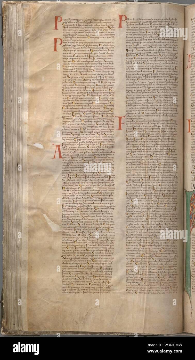 CodexGigas 150 I-IIKings. - Stock Image