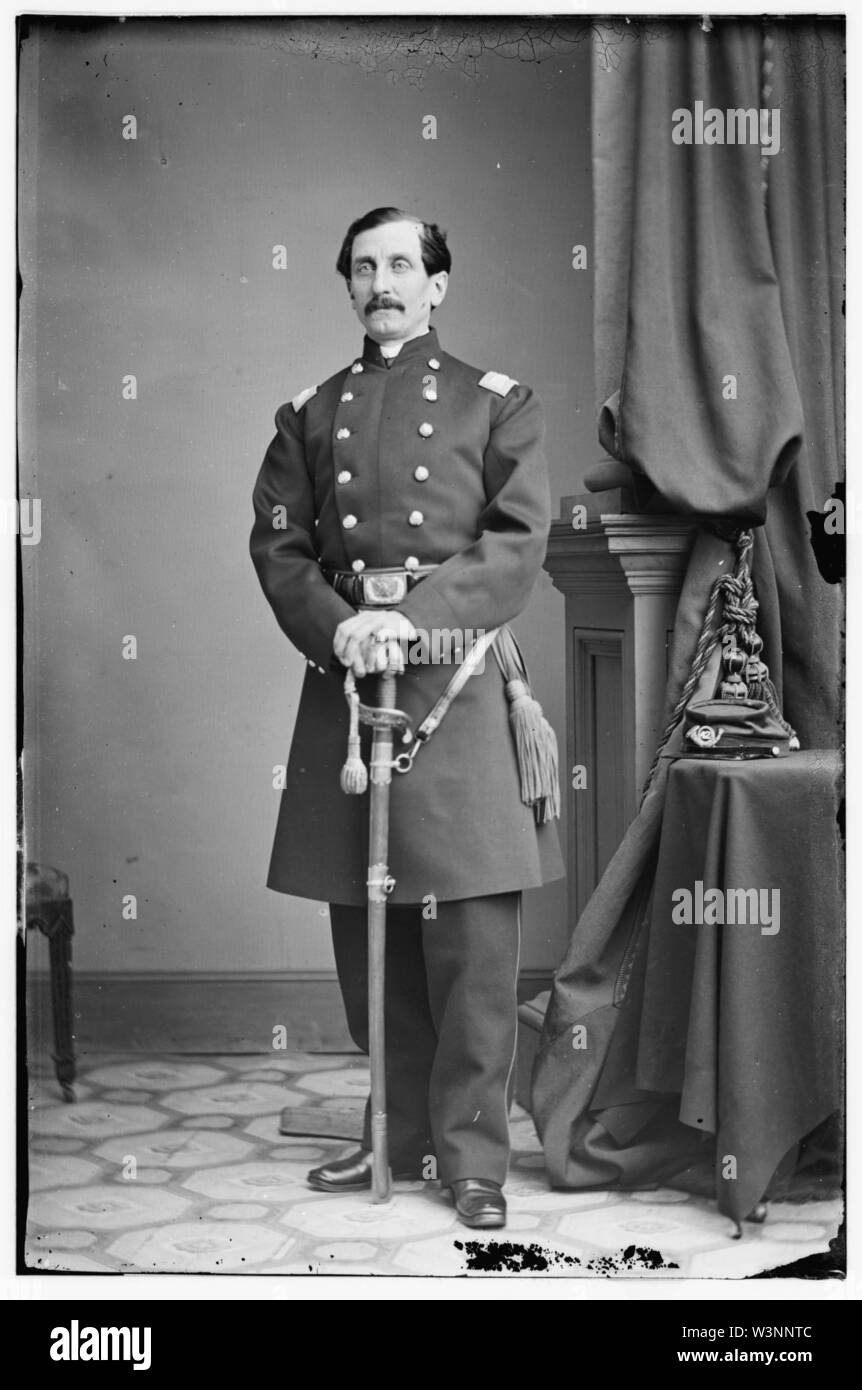 Col. E.C. Charles, 42nd N.Y. Inf. - Stock Image