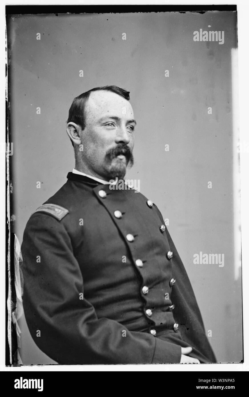 Col. J.E. Mellon, 42nd NY - Stock Image