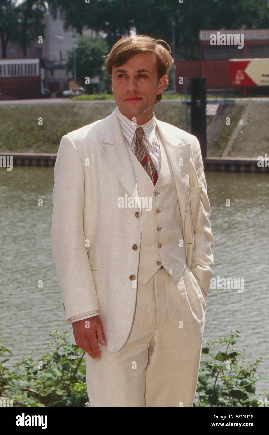 Prinz zu entsorgen, Fernsehfilm, Deutschland 1995, Satire, Darsteller: Christoph Waltz - Stock Image