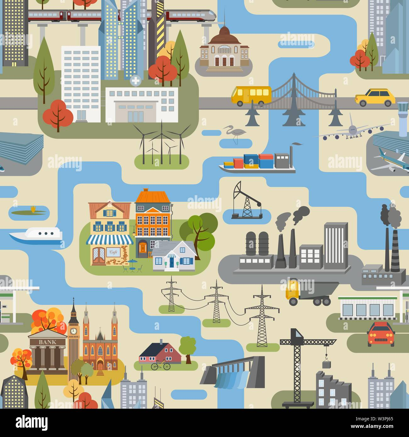 Great city map creator.Seamless pattern map. Houses ... on map country, map projection, map marker, map of c, map layers, world map outline, map world, map illustrator, map title, map of canada, map north, site map creator, map of germany, map of westeros, map history, map of africa, map pushpin icon, map making, map scale, map of us national parks, map colors, map star, map background, map name, map of europe and united states, grid map,