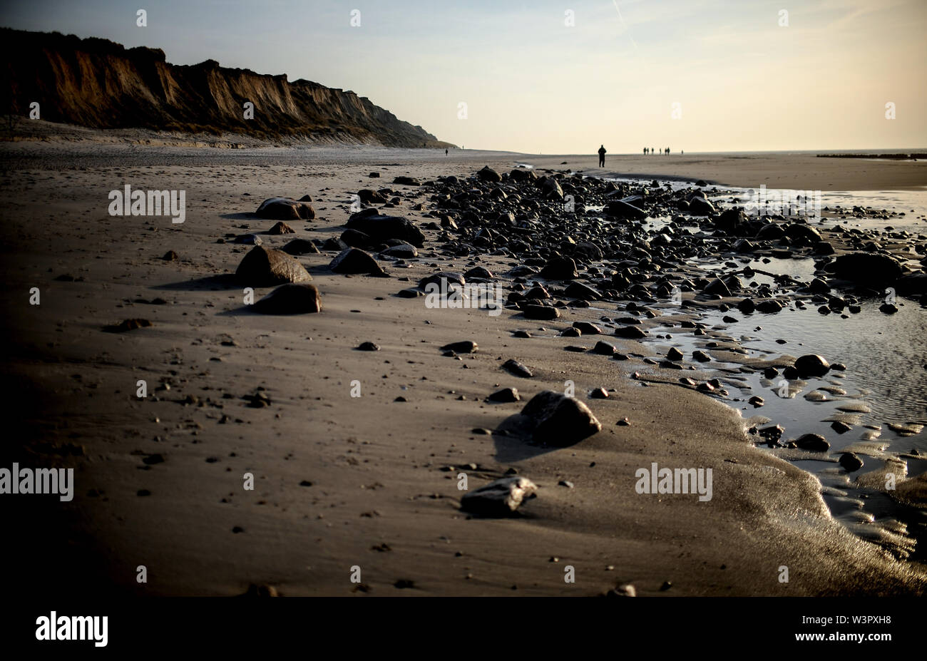 Sylt, Germany. 18th Feb, 2019. Landscape on Sylt. Sylt is the largest North Frisian island in Germany. Credit: Britta Pedersen/dpa-Zentralbild/ZB/dpa/Alamy Live News - Stock Image