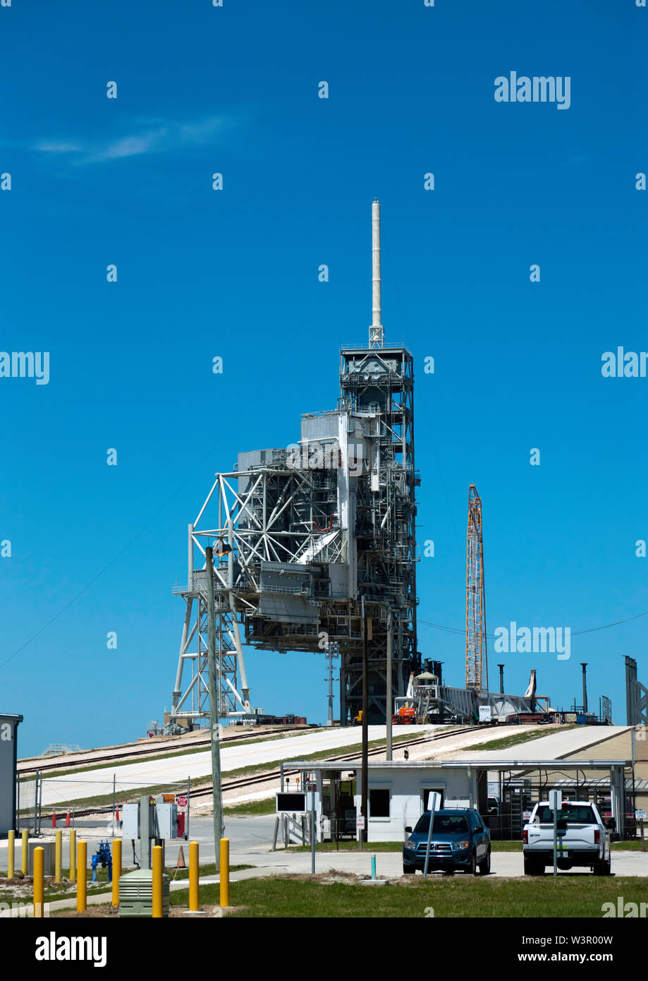 Kennedy Space Center Launch Complex 39A , currently in use by SpaceX - Stock Image