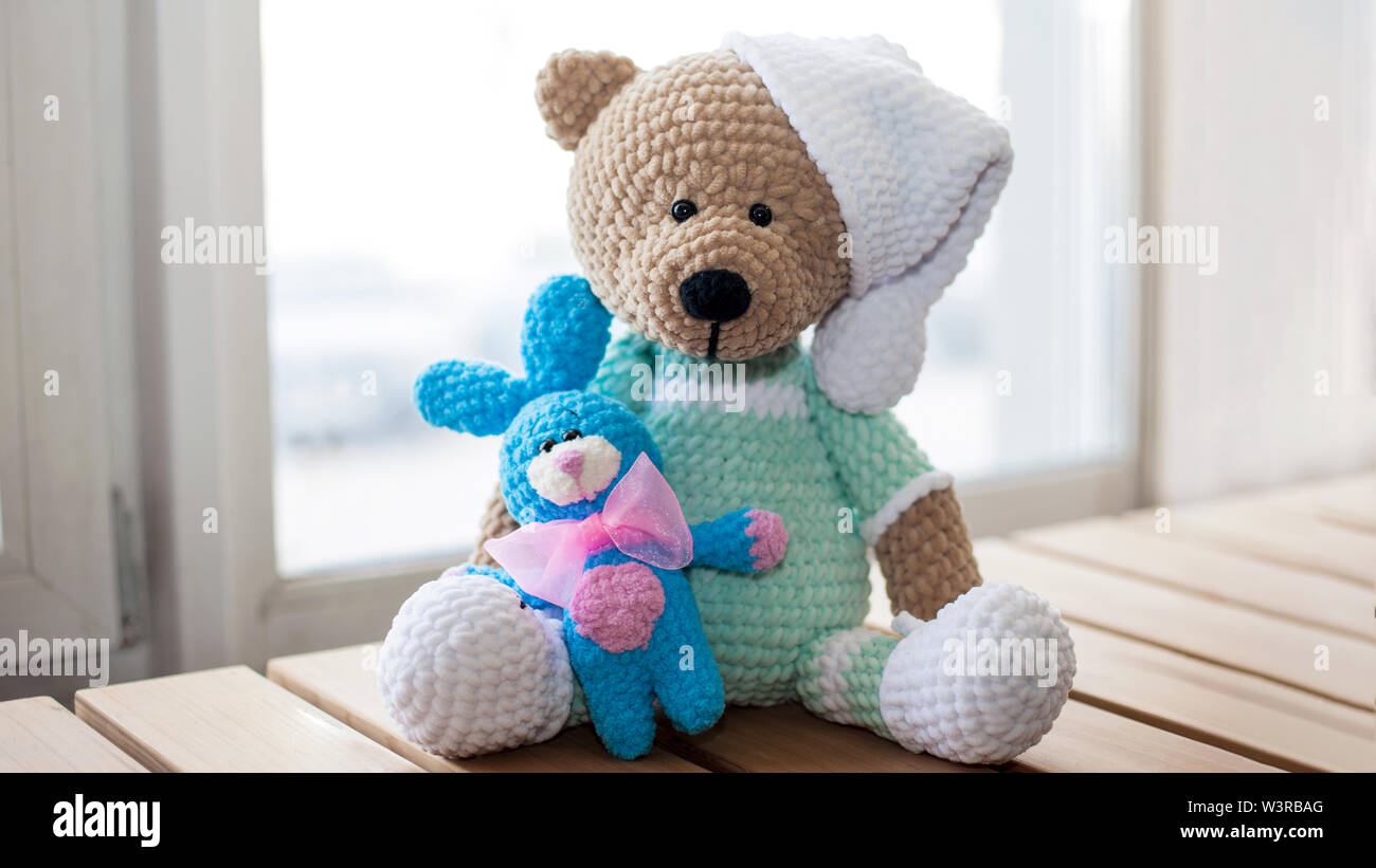 Crochet Teddy Bear Granny Squares, Free Pattern | The Homestead ... | 821x1300