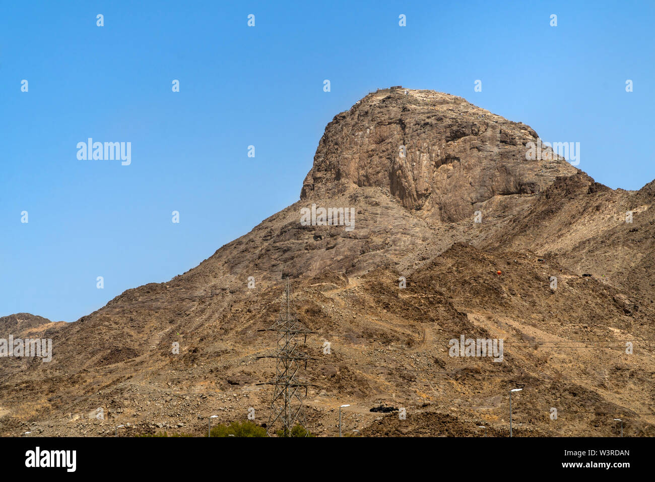 Jabal Nour (Nour Mountain) in Mecca, Saudi Arabia  Prophet