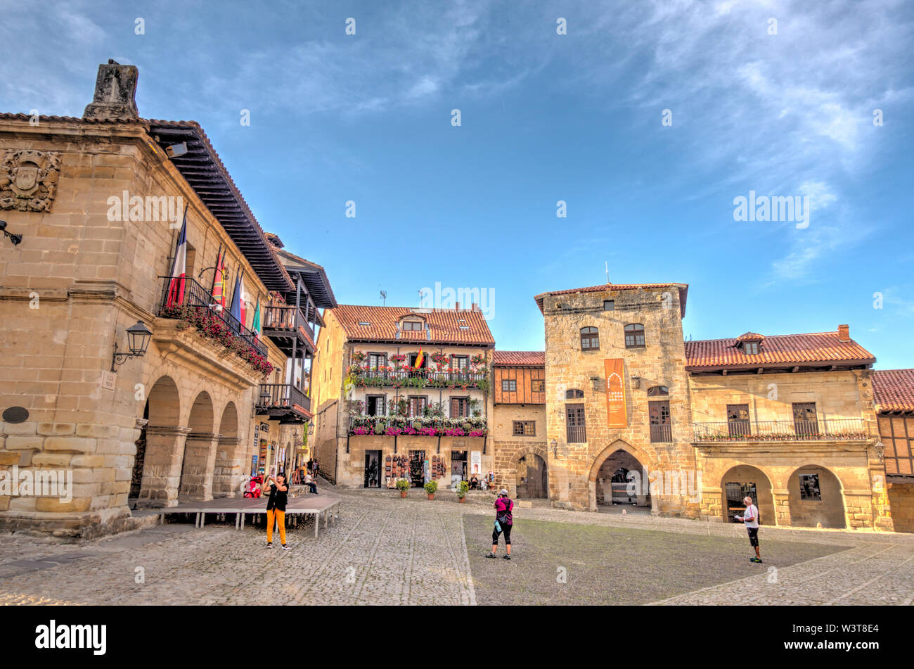 Santillana del Mar, Cantabria, Spain Stock Photo