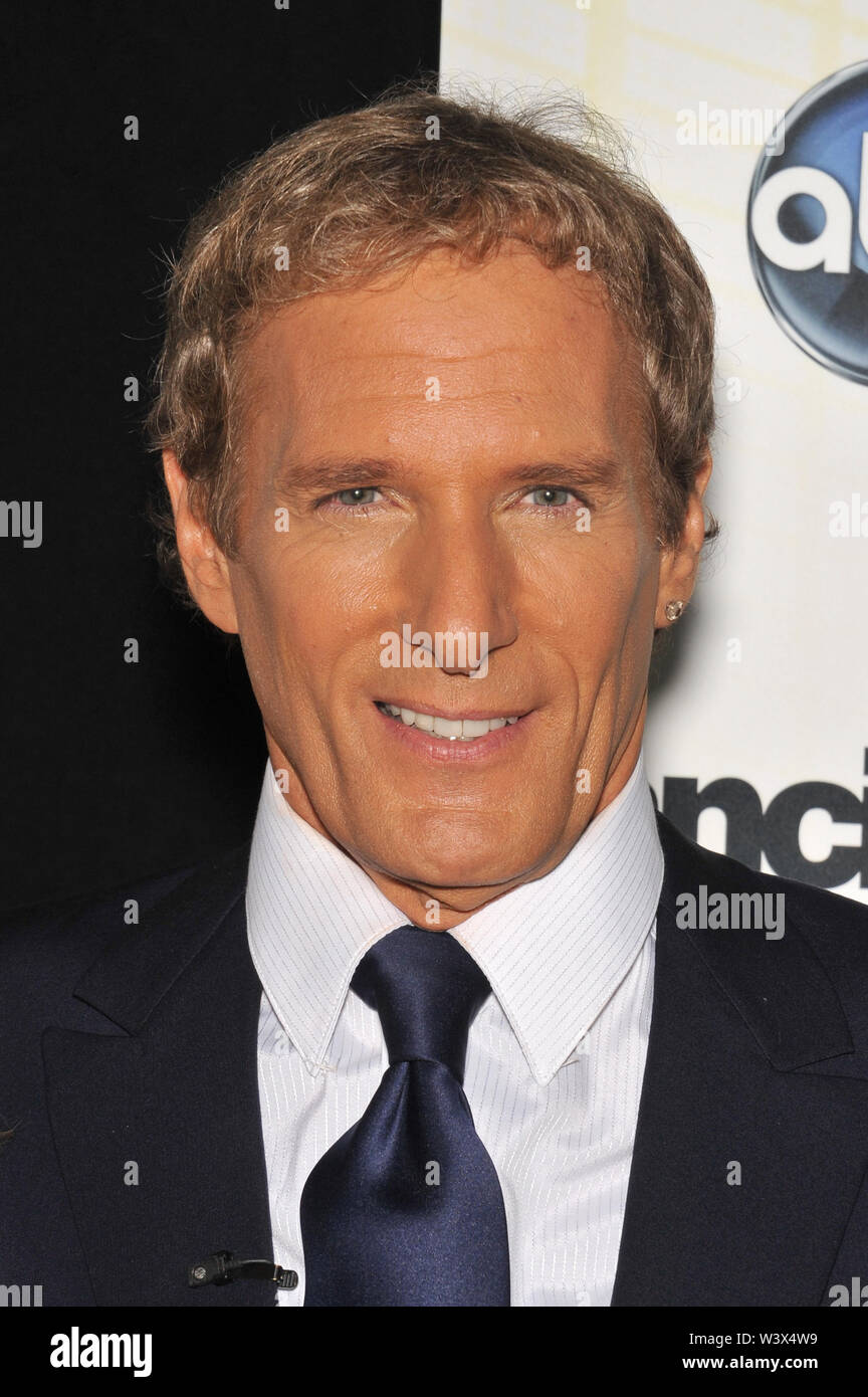 LOS ANGELES, CA. September 20, 2010: Michael Bolton at the Season 11 premiere of ABC's Dancing With The Stars at CBS Television City, Los Angeles. © 2010 Paul Smith / Featureflash - Stock Image