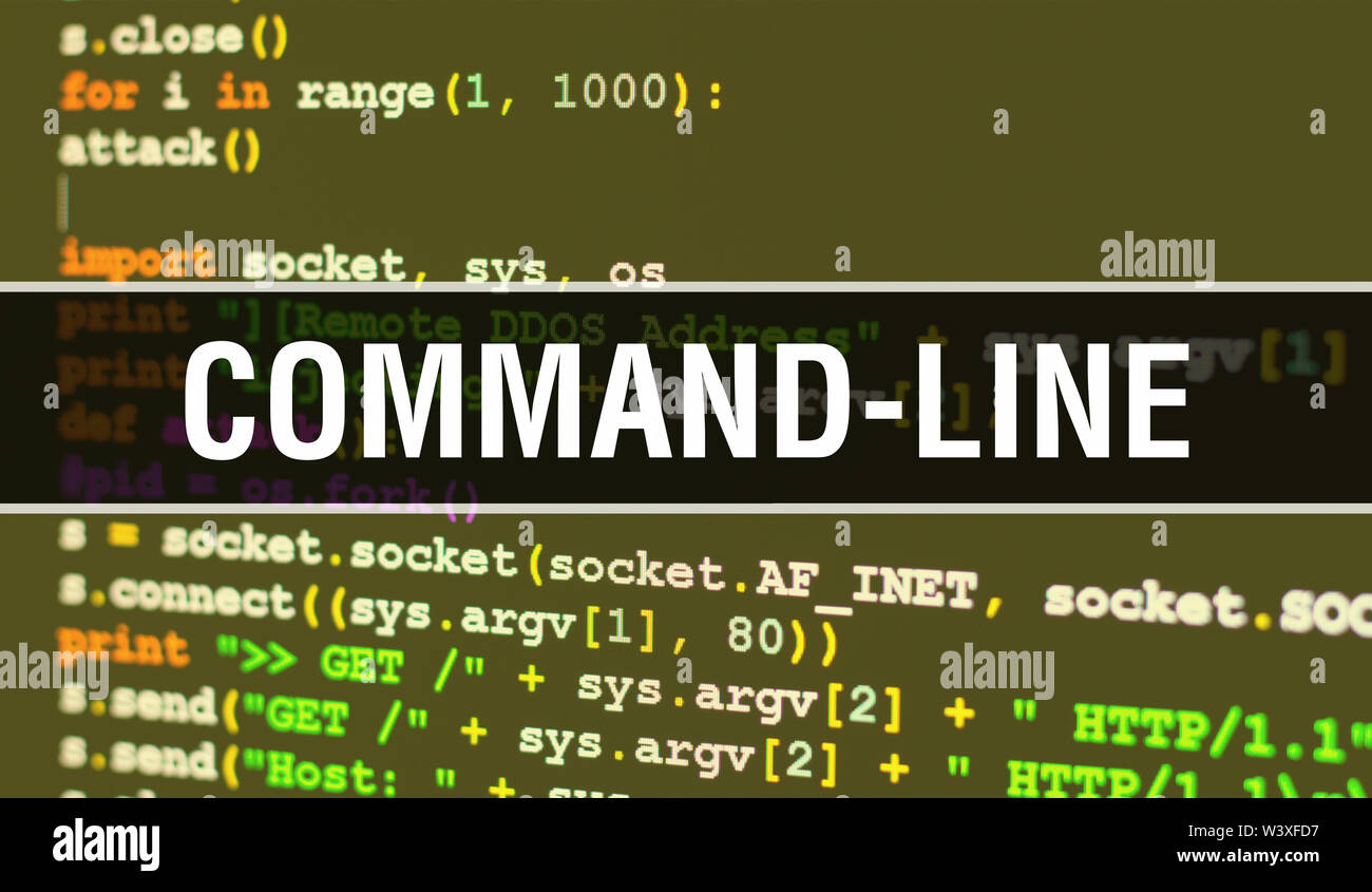 Command Line Stock Photos & Command Line Stock Images - Alamy