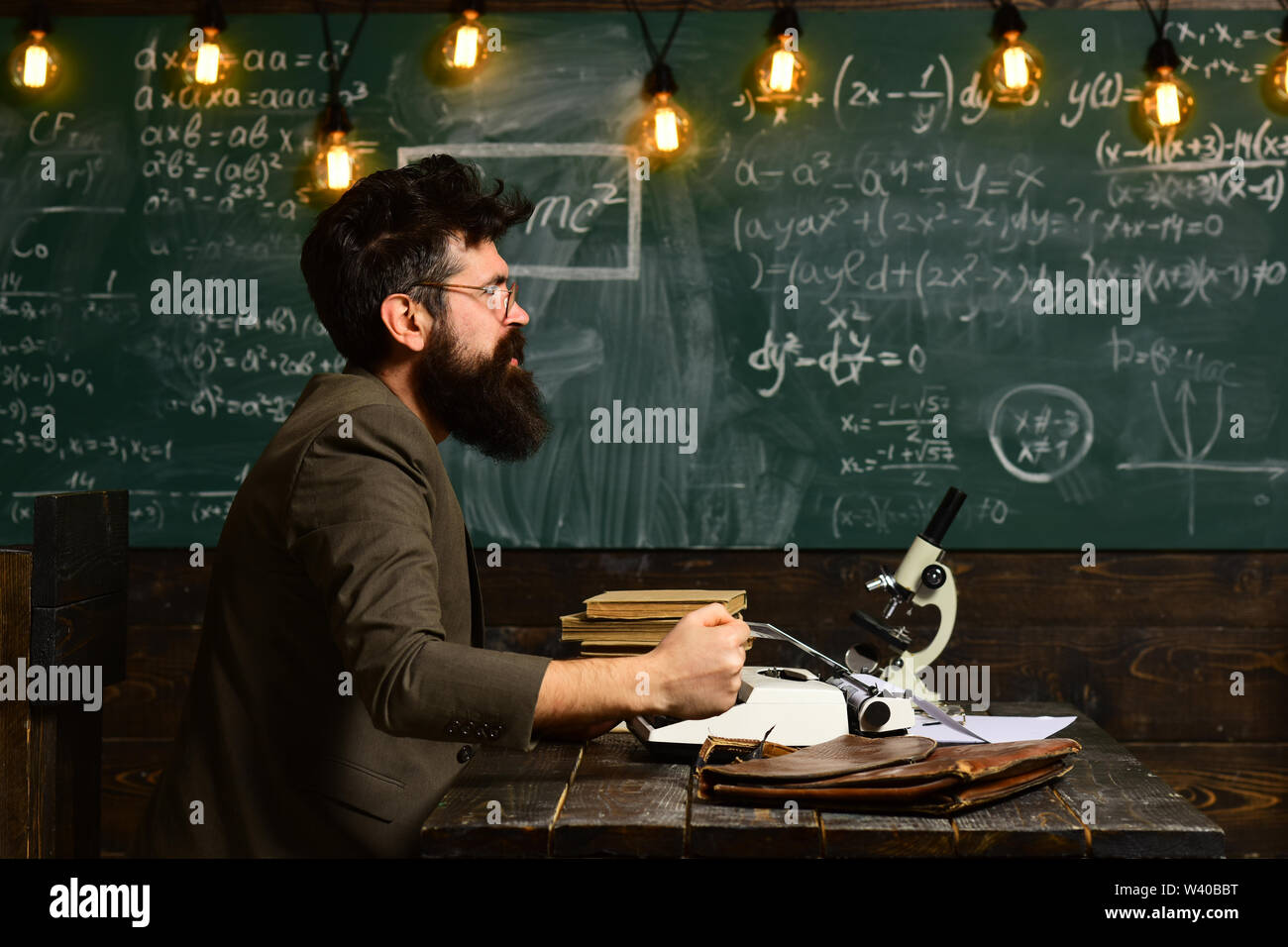 Good tutors are often communication masters, Academic success is much more about hard work than inborn talent, Tutor should believe that things can be - Stock Image