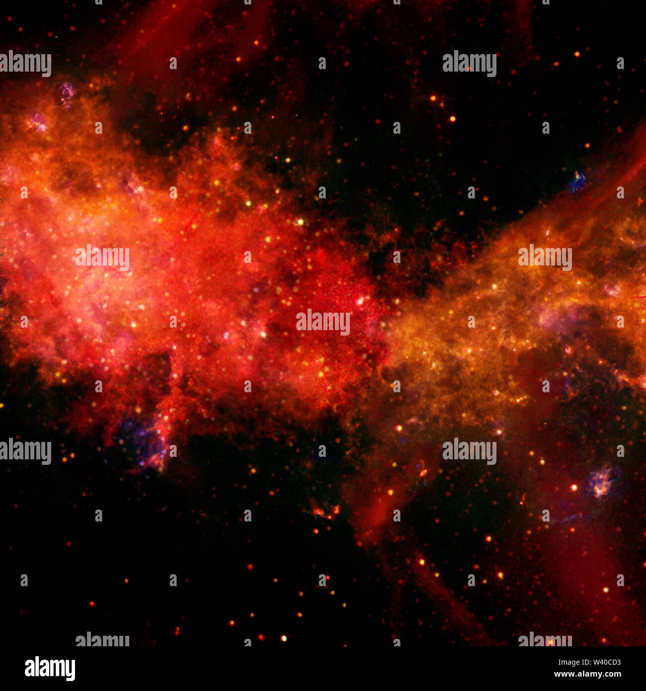Awesome beauty of starfield somewhere in deep space. Elements of this image furnished by NASA - Stock Image