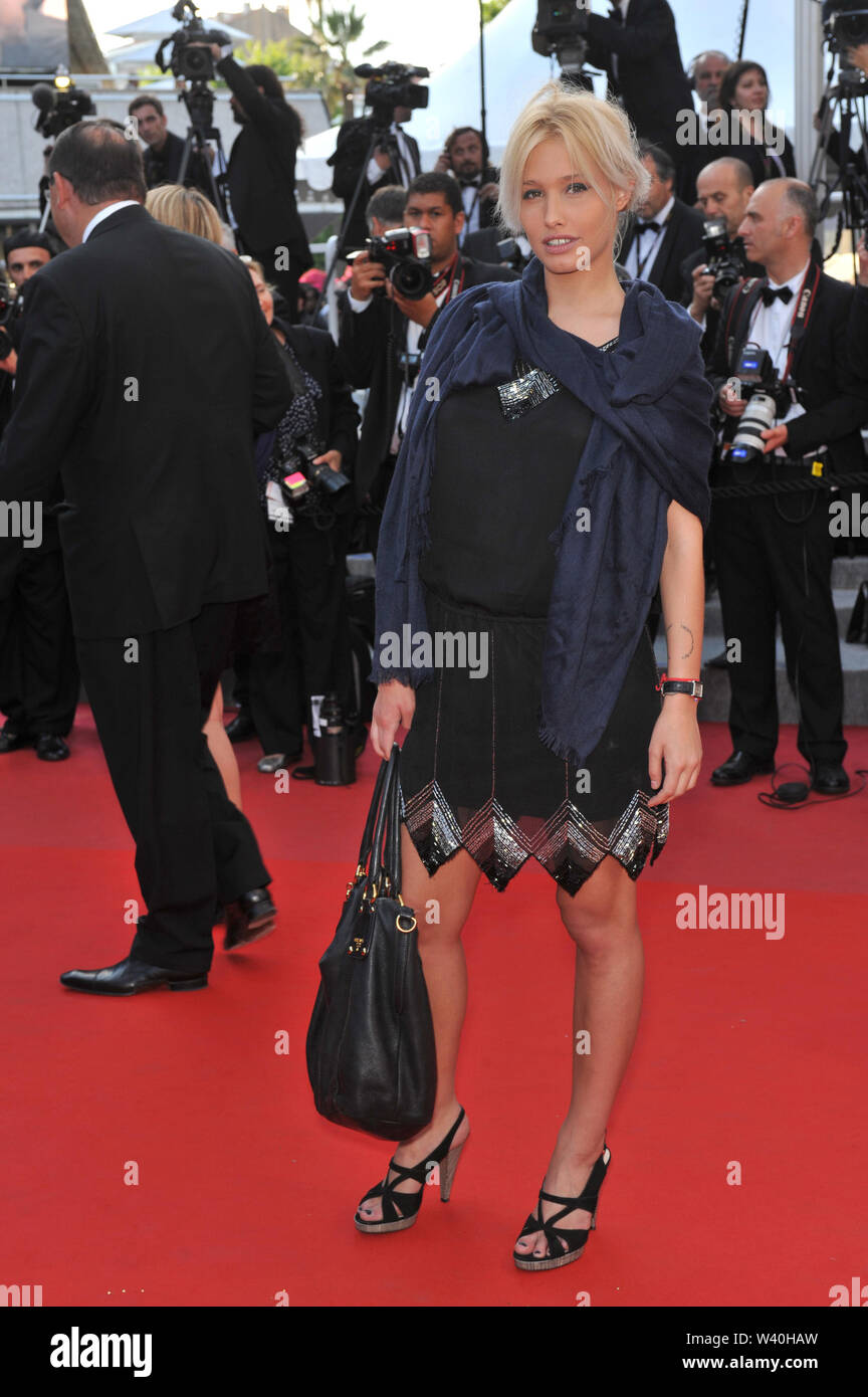CANNES, FRANCE. May 23, 2010: Lila Salet at the premiere of 'Exodus - Burnt by the Sun' at the 63rd Festival de Cannes. © 2010 Paul Smith / Featureflash - Stock Image