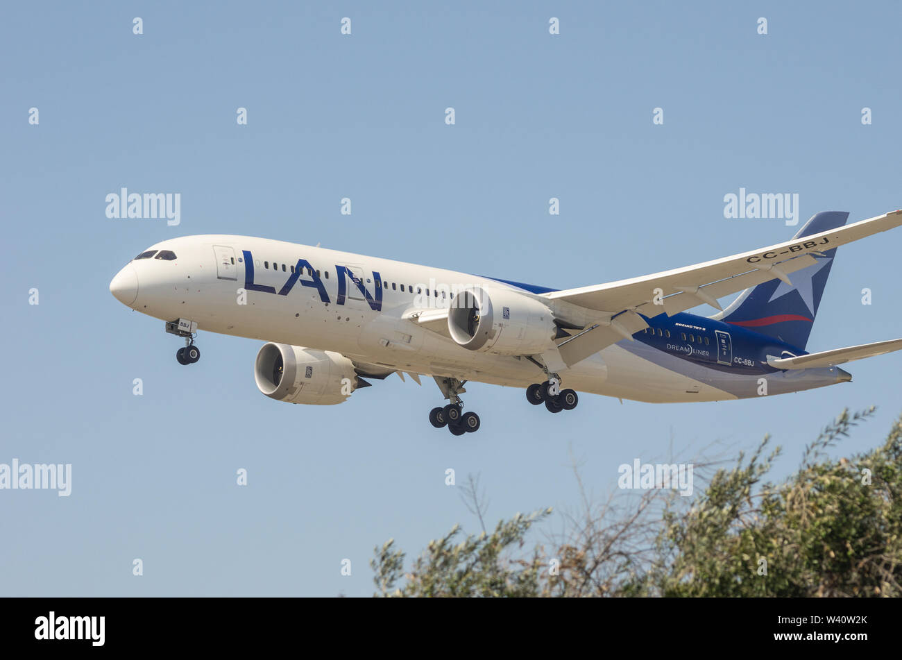 Lan Airlines Stock Photos & Lan Airlines Stock Images - Alamy