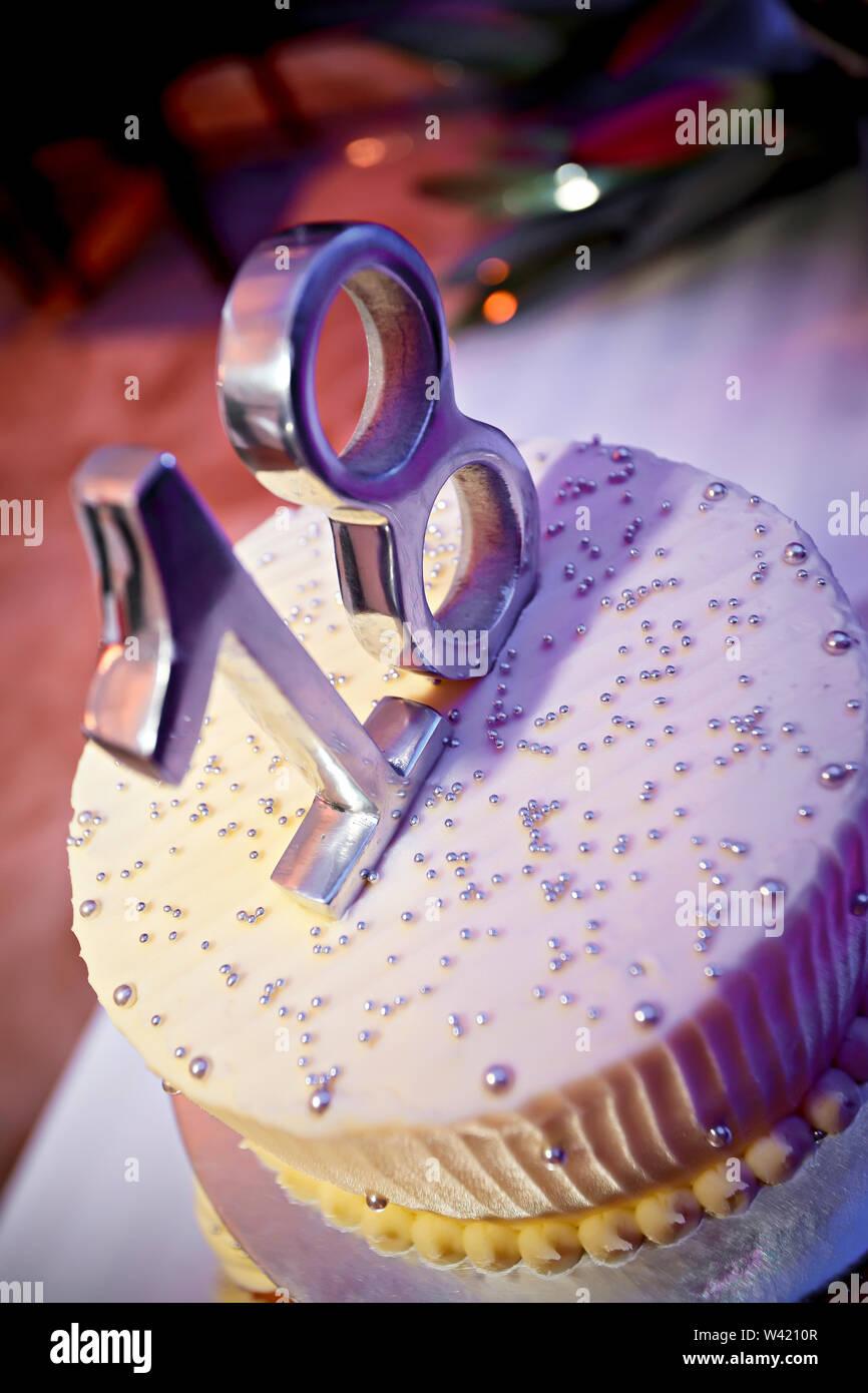 Magnificent 18Th Birthday Cake Stock Photos 18Th Birthday Cake Stock Images Funny Birthday Cards Online Bapapcheapnameinfo
