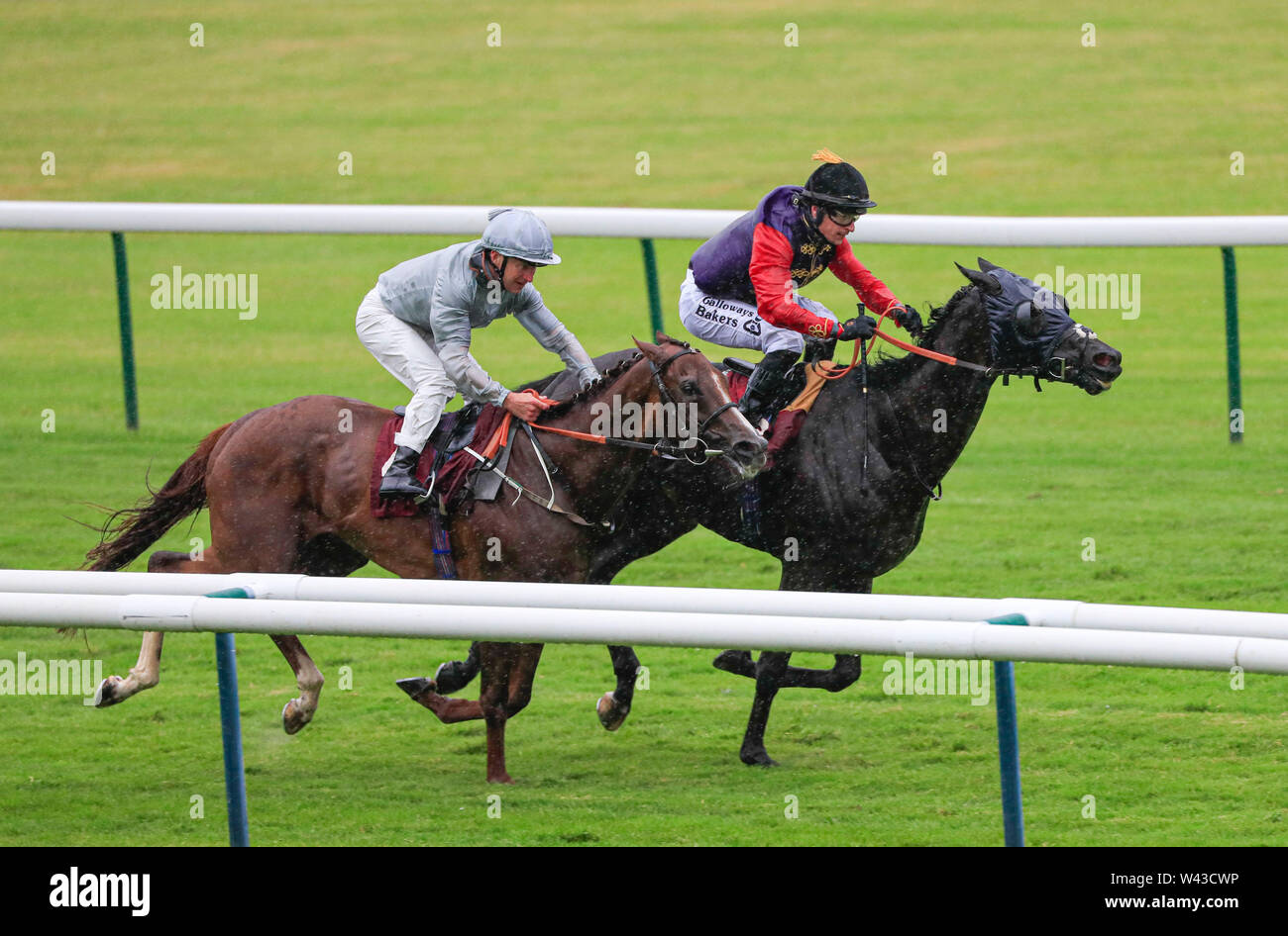 Haydock Horse Racing Course Stock Photos & Haydock Horse Racing