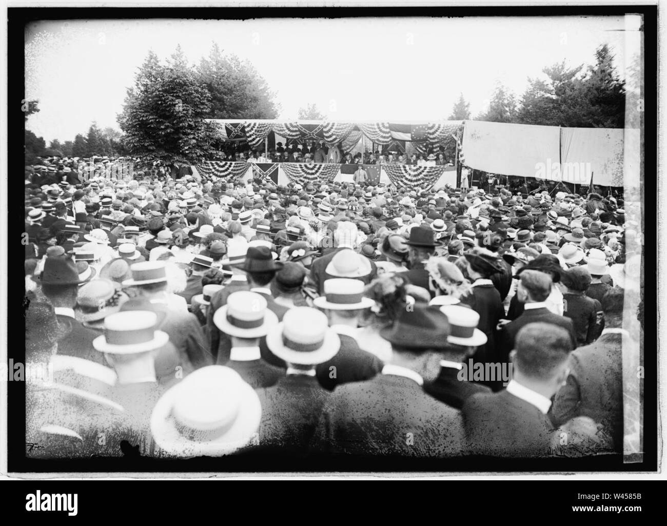 Confederate memorial ceremonies, 6-5-22 - Stock Image