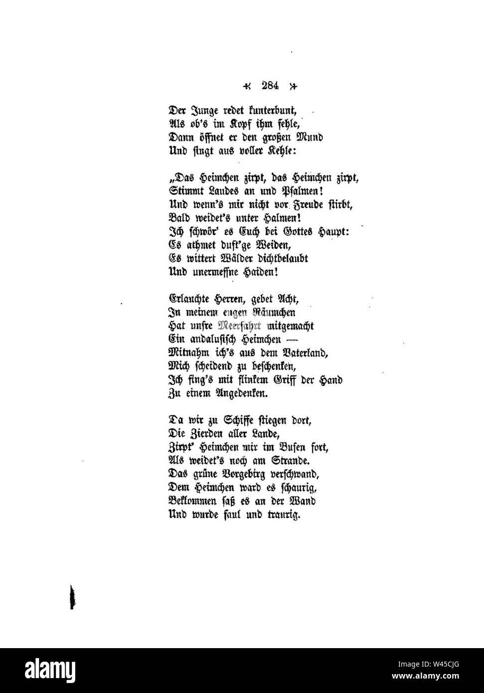 Conrad Ferdinand Meyer Gedichte 284 Stock Photo 260733832