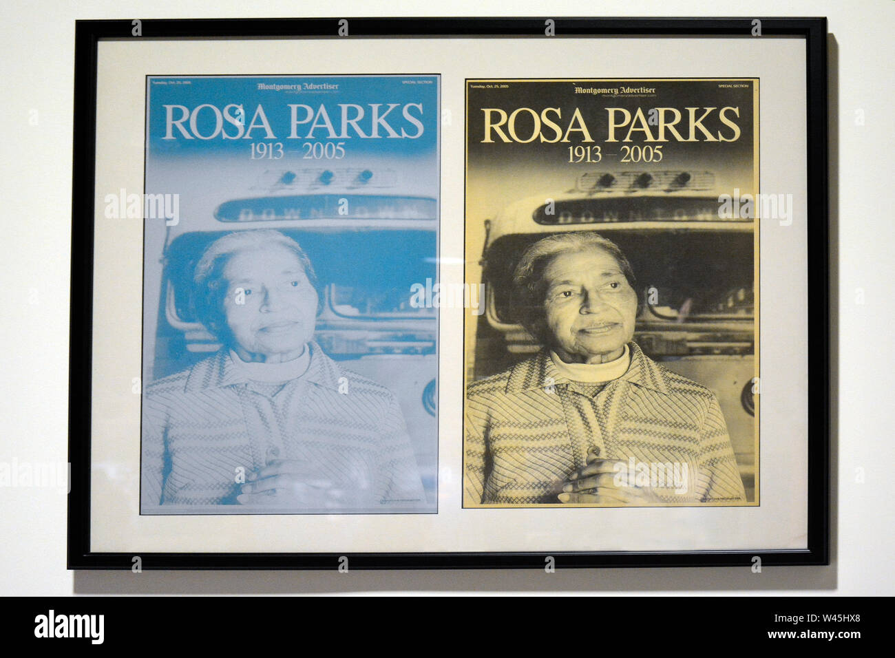 Rosa Parks Library Museum Stock Photos & Rosa Parks Library