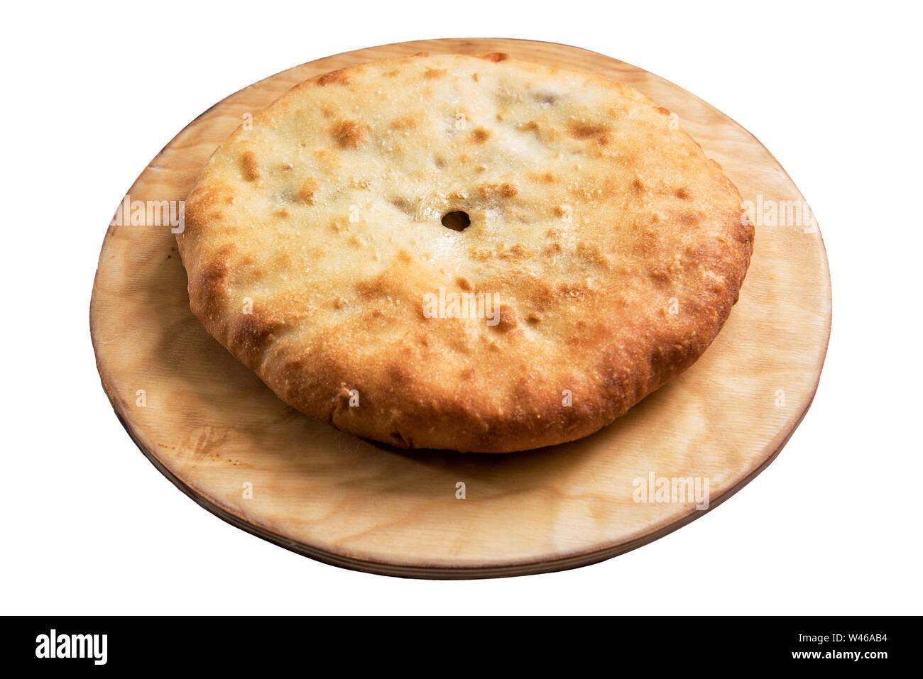 Georgian Khachapuri Megruli With Cheese Stock Photo Alamy