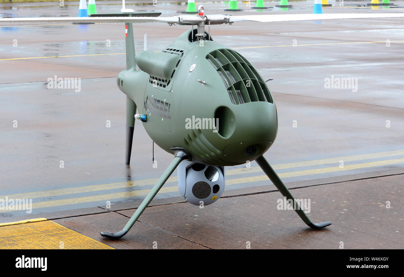 Camcopter, S-100, military drone Stock Photo