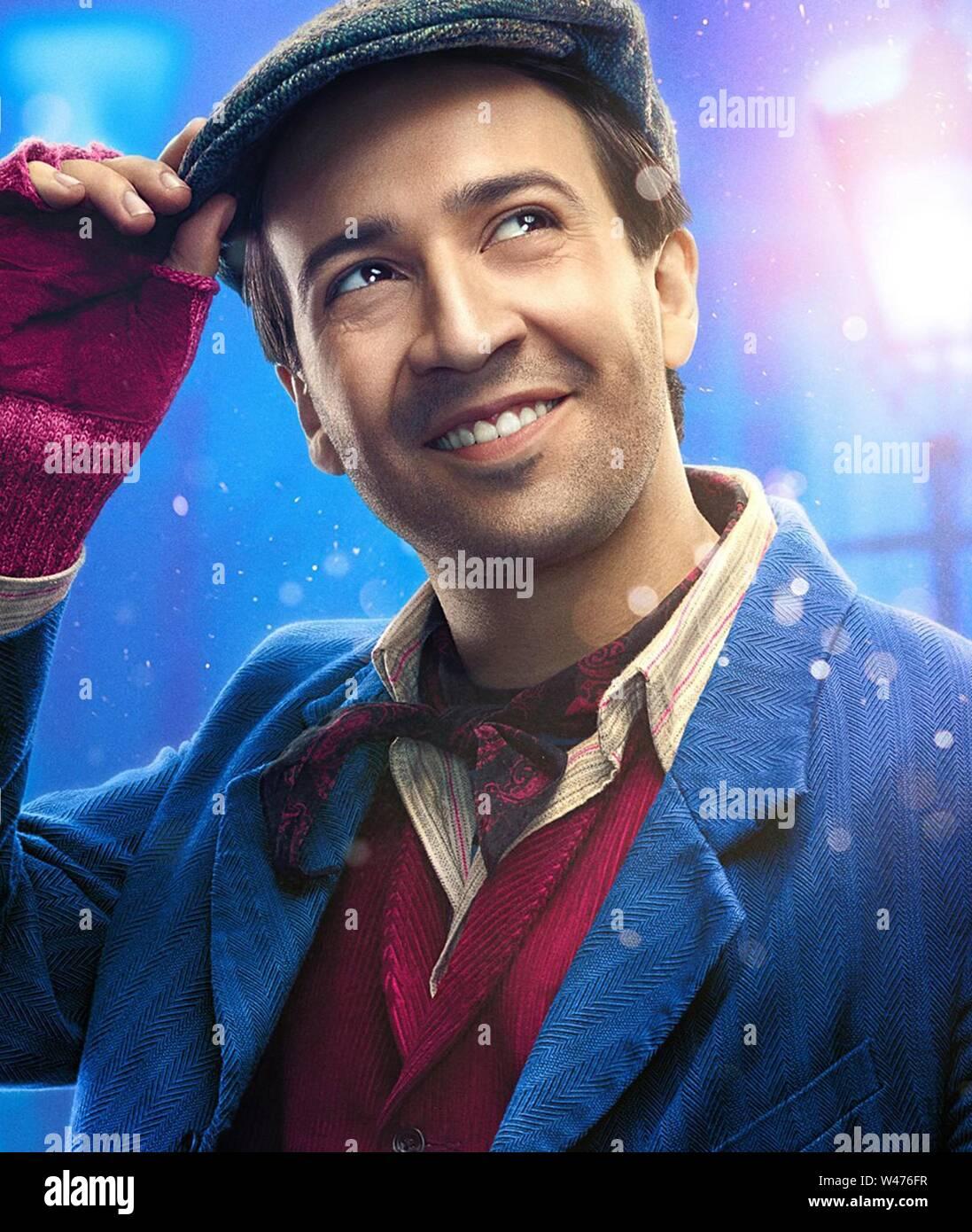 Lin Manuel Miranda In Mary Poppins Returns 2018 Directed By Rob Marshall Credit Lucamar Productions Marc Platt Productions Walt Disney Album Stock Photo Alamy