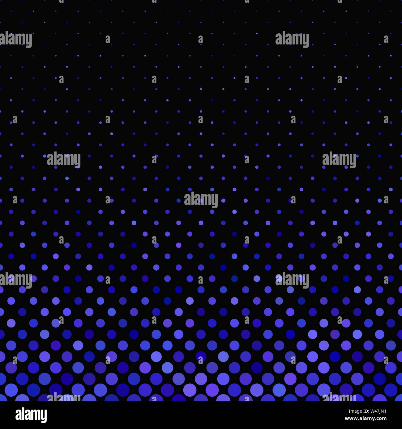 Blue geometric abstract dot pattern background - vector design - Stock Image