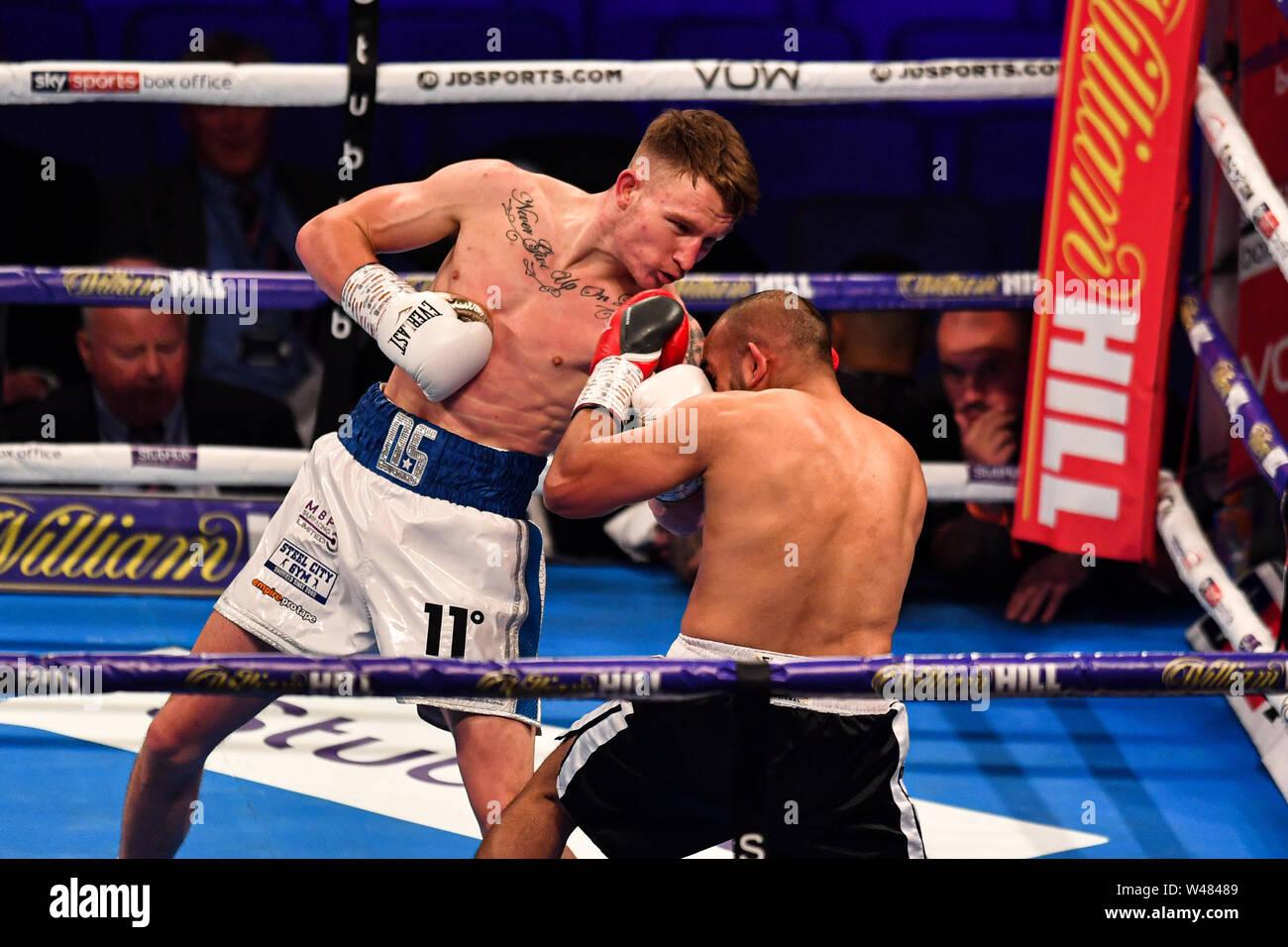 LONDON, United Kingdom  20th July, 2019  Dalton Smith vs