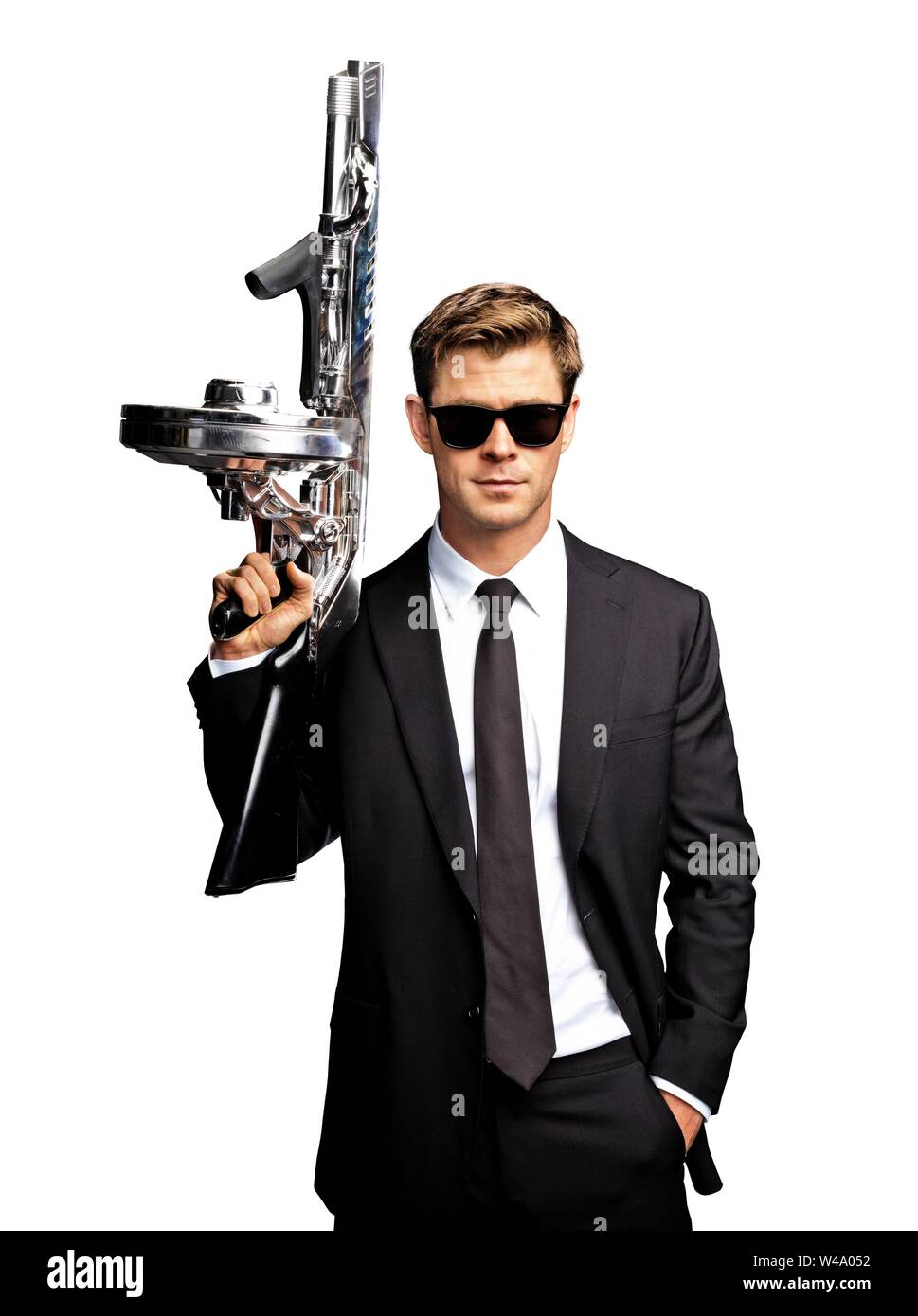 Chris Hemsworth In Men In Black International 2019 Directed By F Gary Gray Credit Columbia Pictures Album Stock Photo Alamy