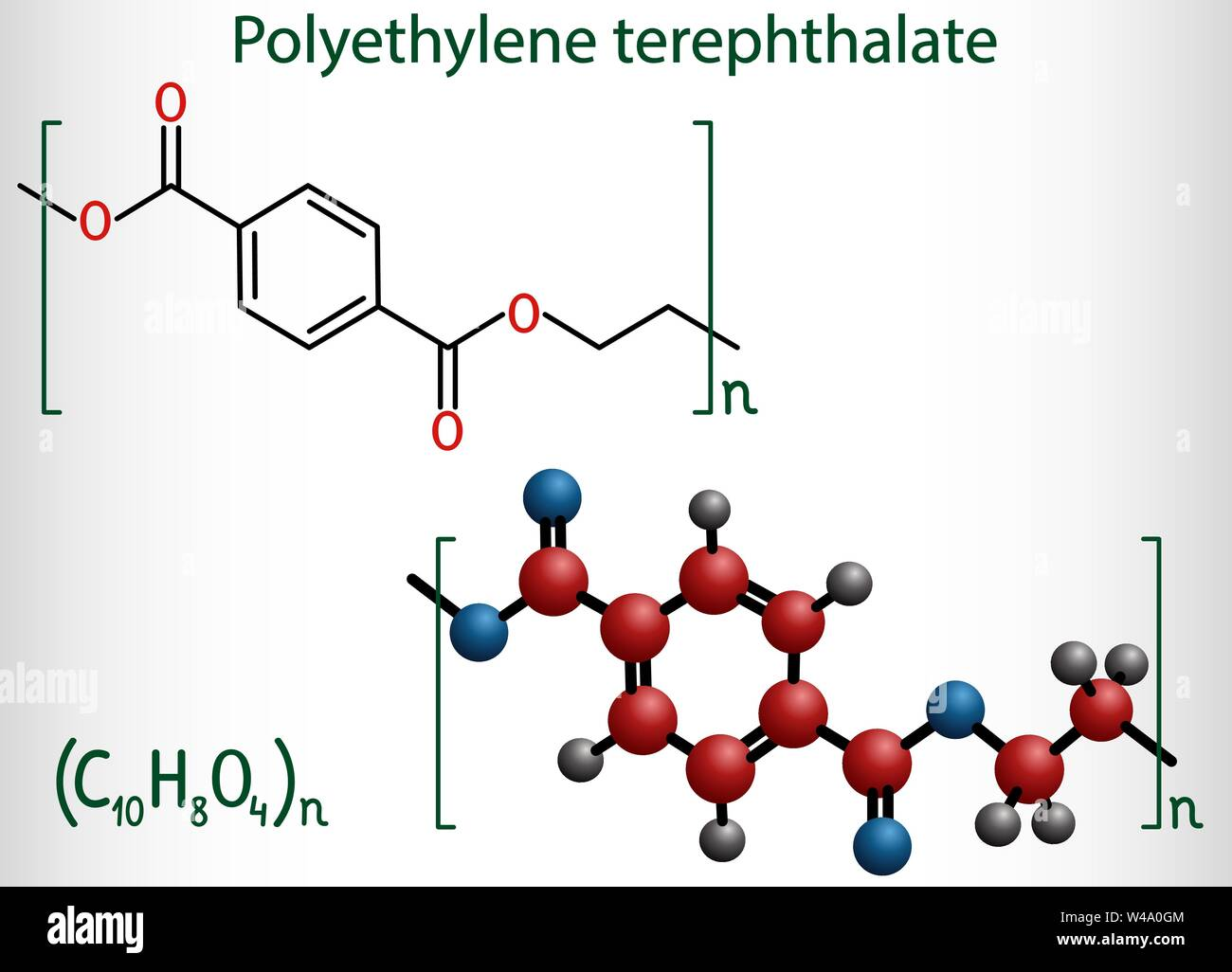 Polyethylene terephthalate or PET, PETE polyester
