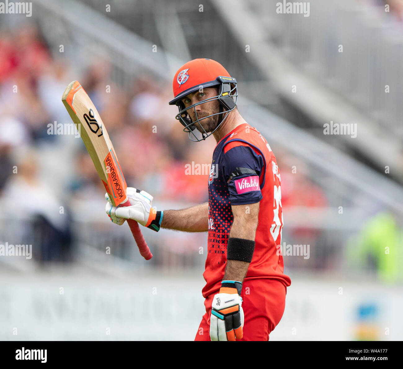 Emirates Old Trafford Manchester, UK  21st July, 2019  Vitality