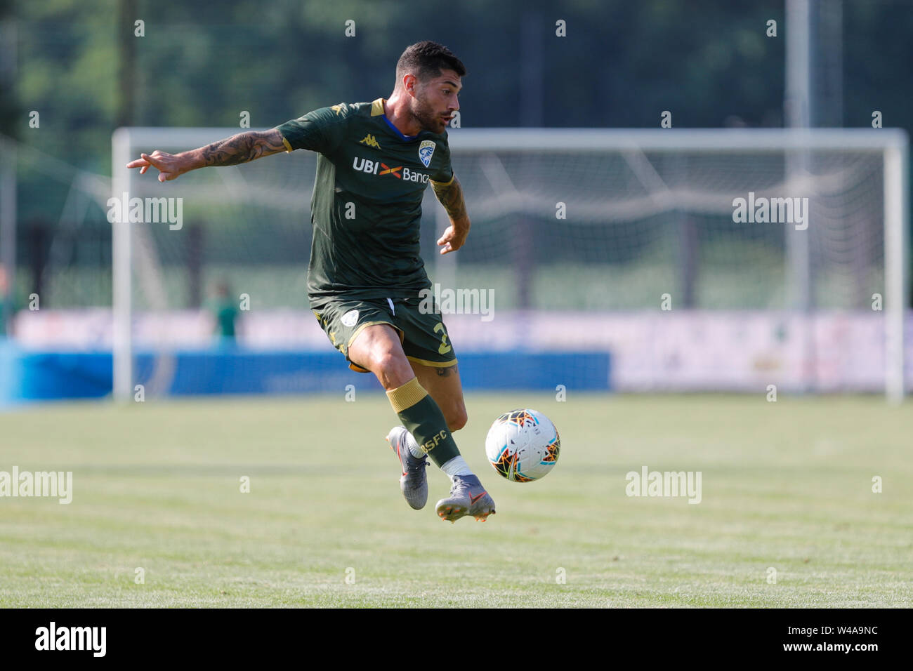 Darfo Boario, Italia. 21st July, 2019. Foto Stefano Nicoli/LaPresse21 luglio 2019 Darfo Boario (Bs), Italia sport calcio Amichevole Brescia Darfo Pre Campionato di calcio Serie A 2019/2020 - Nella foto: Stefano Sabelli Photo Stefano Nicoli/LaPresse July 20, 2019 Darfo Boario (Bs), Italy sport soccer Friendly match Brescia Darfo League A TIM 2019/2020 - In the pic:Stefano Sabelli Credit: LaPresse/Alamy Live News - Stock Image