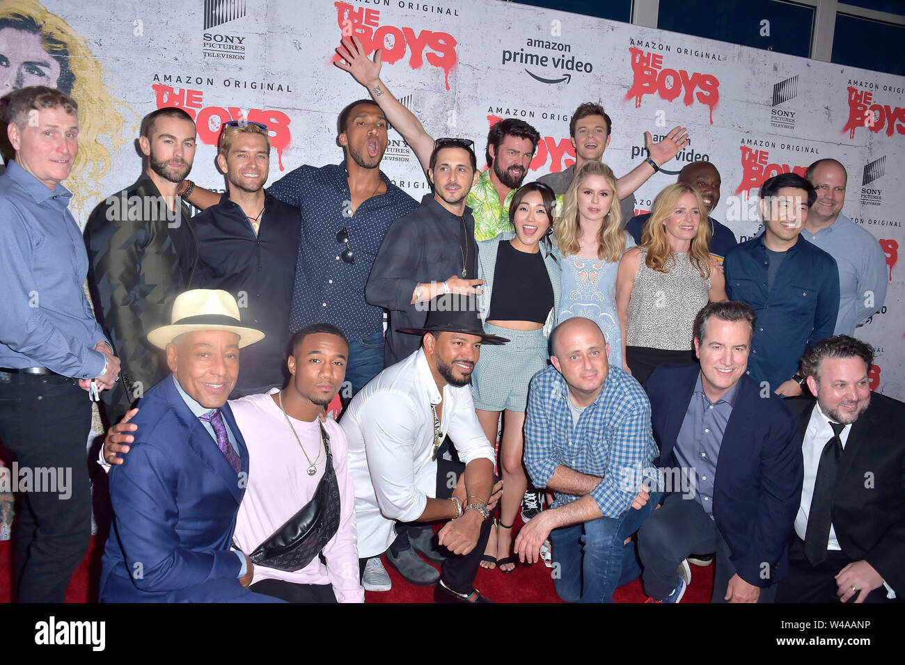San Diego, USA  19th July, 2019  'The Boys' cast and crew at