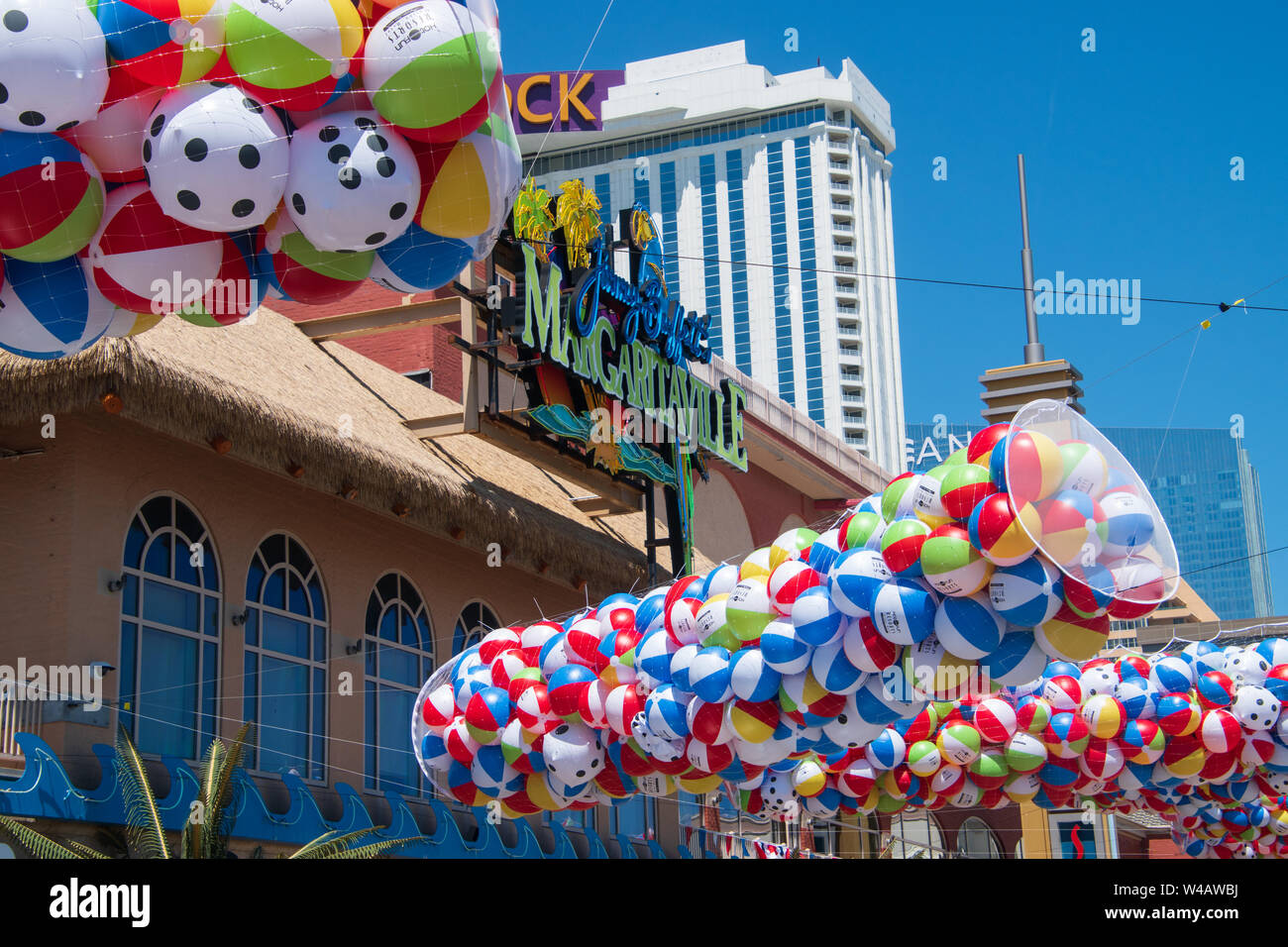 Atlantic City, New Jersey - May 24, 2019: The start of the