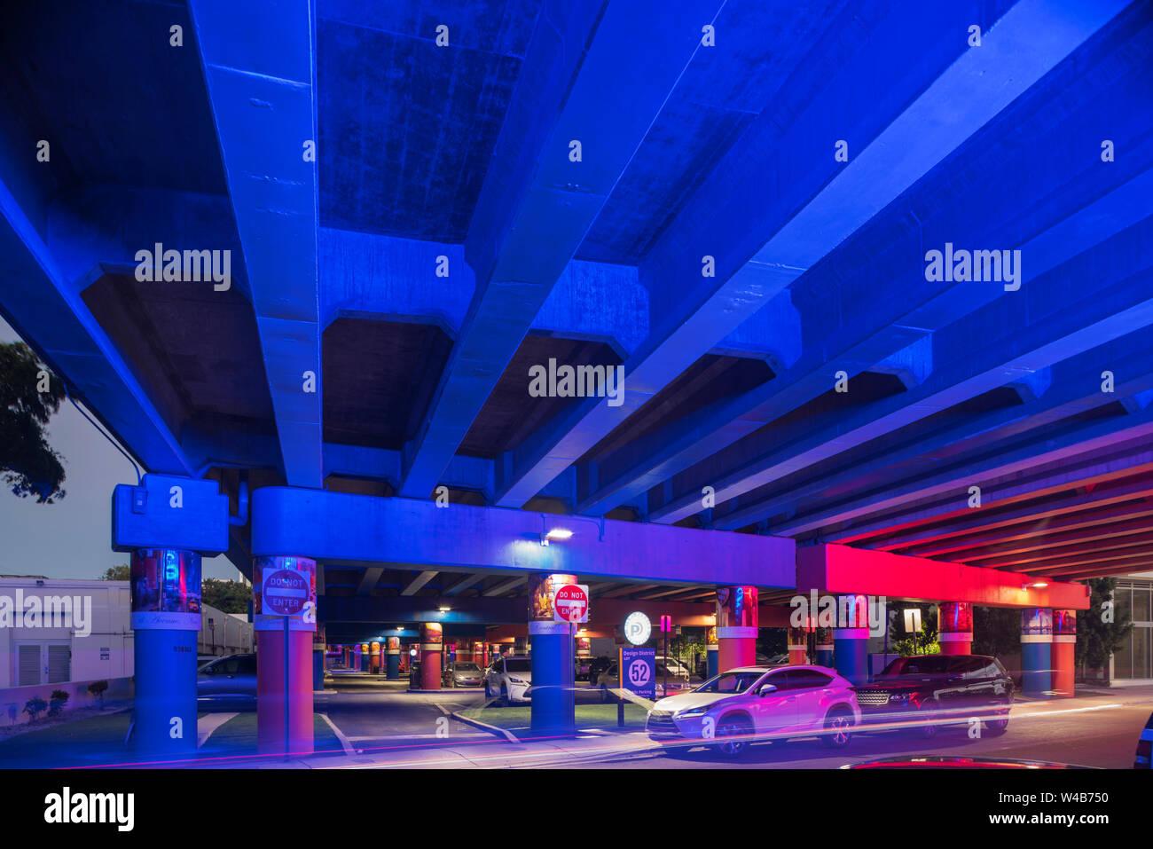 LOT 52 PARKING GARAGE (© DI BARI ASSOCS MIAMI PARKING
