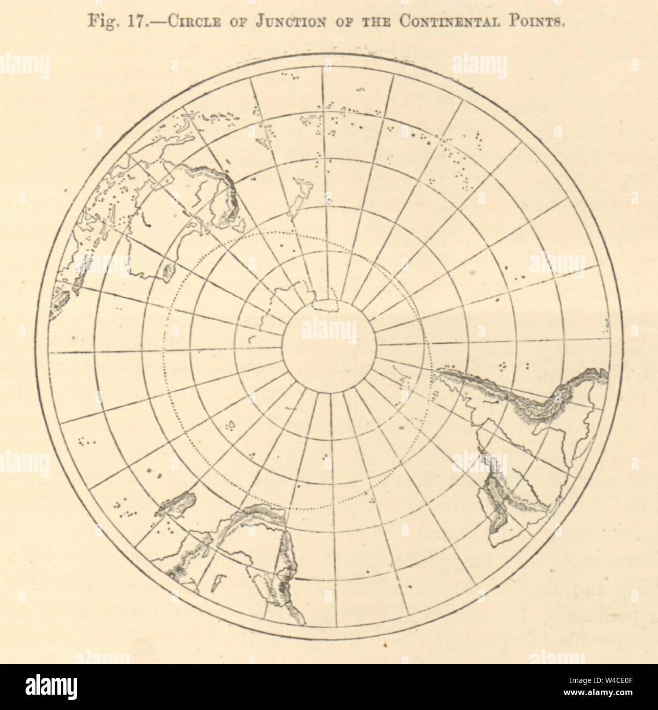 Antarctic Circle Map Stock Photos & Antarctic Circle Map ...