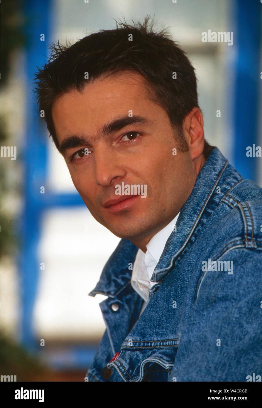 """Stefan Gubser, Schweizer Schauspieler, in der Fernsehserie """"Kurklinik Rosenau"""", Deutschland 1996. Swiss actor Stefan Gubser from the TV series """"Kurklinik Rosenau"""", Germany 1996. Stock Photo"""