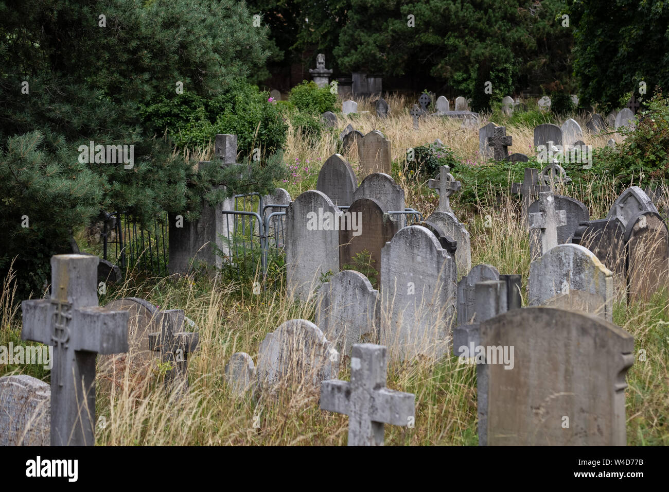 Brompton Cemetery Open Day. One of the 'Magnificent Seven' cemeteries in London, England, UK Stock Photo