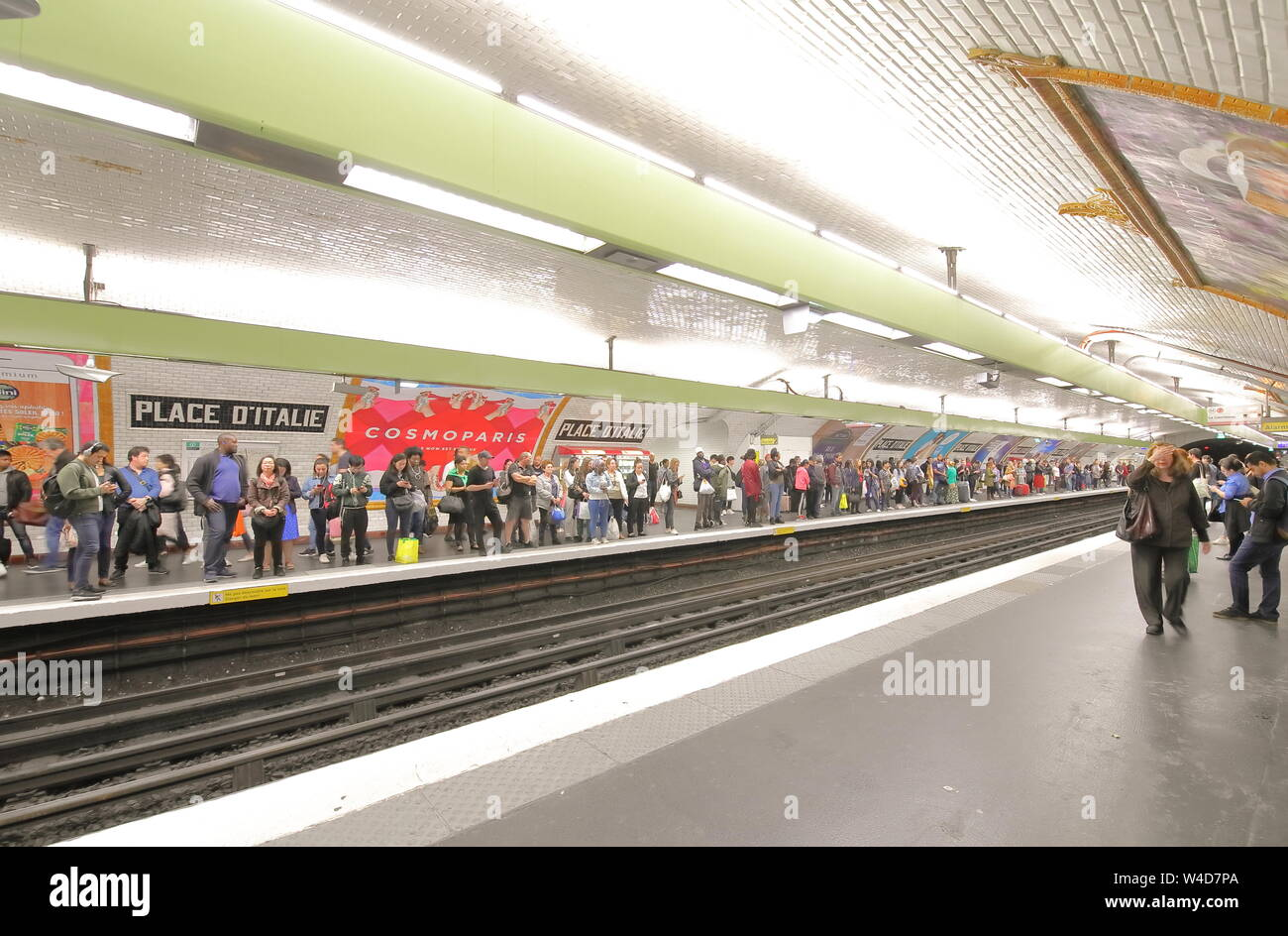 no sale tax really cheap detailing Crowded Metro Paris Stock Photos & Crowded Metro Paris Stock ...