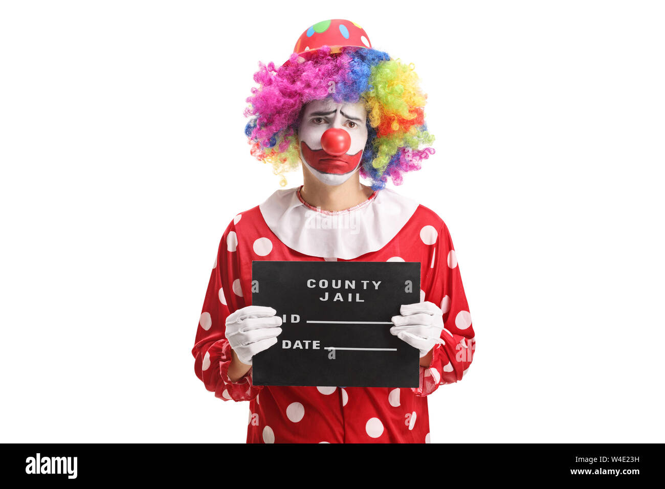 Sad Clown High Resolution Stock Photography And Images Alamy