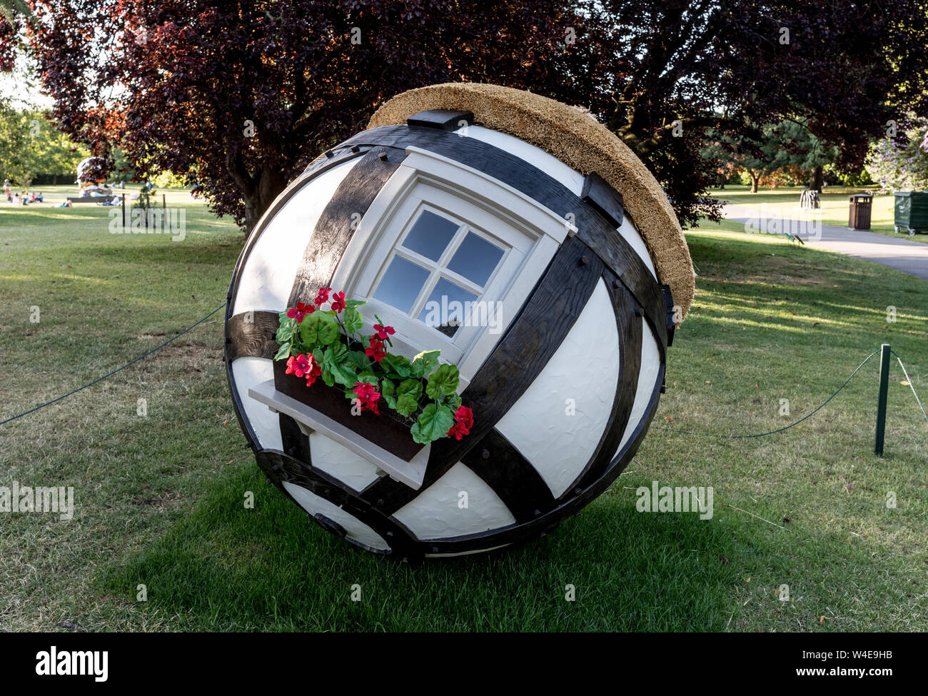 Small House Frieze Art Regents Park London Uk Stock Photo Alamy